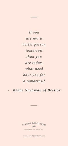 Rebbe Nachman of Breslov Quotation