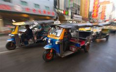 Tuk-Tuk #bangkok #lifestyle #accorcityguide The nearest Accor hotel : Pullman Bangkok Hotel G