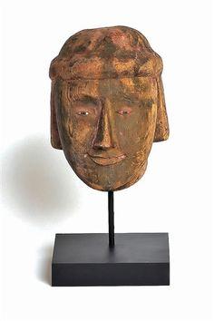 Burmese Puppet Head No. 13