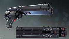 ArtStation - Speed Modeling Scifi Gun Part 1, Marek Kaplita