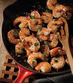 Gorgeous Garlic Shrimp (one of my all-time favorite recipes. I love Teresa Giudice's cookbooks!)