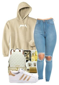"""Field trip"" by alexanderbianca ❤ liked on Polyvore featuring adidas"