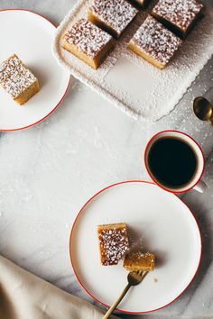 peanut butter snack cake from mynameisyeh.com -- sounds like a delicious snack time treat for kids AND adults!