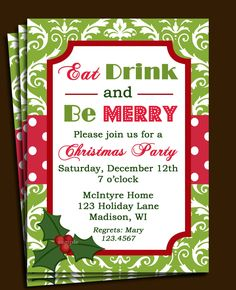 free christmas invitations printable template free printable christmas party invitations templates cimvitation printable christmas invitation holiday - Free Christmas Invitation Templates