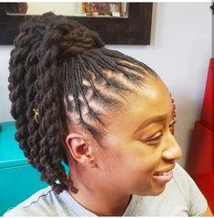 Natural Hair done Right Natural Hair Salons, Natural Hair Styles, Dreadlock Hairstyles, Hair Studio, Dreadlocks, 4 Life, Beauty, Beautiful, Fashion