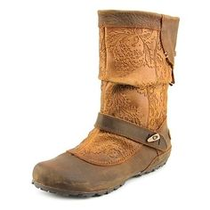f04deac18 Merrell Haven Pull Women Round Toe Leather Brown Mid Calf Boot. overstock .com