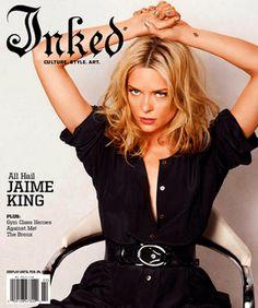 Inked Magazine February 2009 JAIME KING, Metal Sanaz, Tom Gabel, Paul Booth