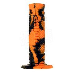 Domino Soft Hand Snake Grips - Orange Black