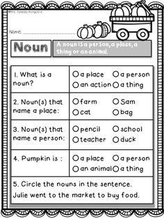 First Grade Worksheets, First Grade Activities, Teaching First Grade, First Grade Classroom, Grammar Worksheets, First Grade Math, Grade 2, Math Literacy, Literacy Activities