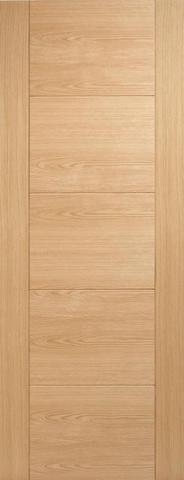 Internal Oak Vancouver Solid Fire Door - MODA DOORS