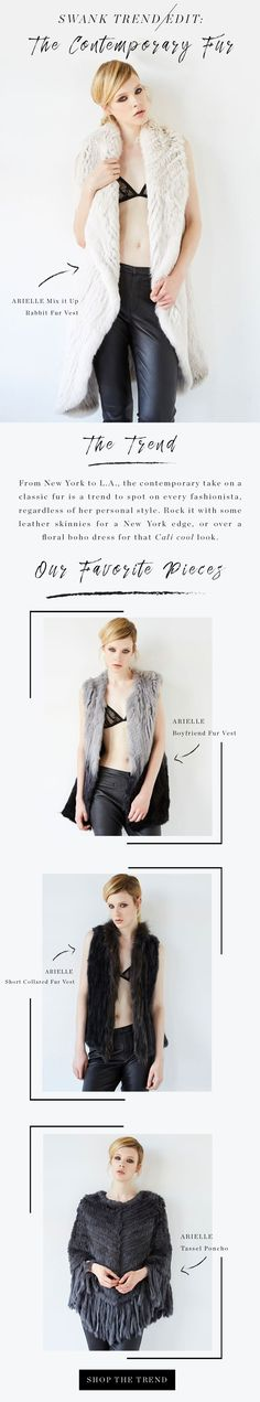 How to wear Fur and Fur Vest