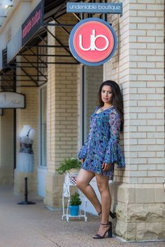 Dress from the  b*ub*bly collection. Photo courtesy of Anand Jayaraman of AJ Photoz.
