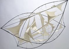 Jens J Meyer Air Cushion 2002 floating sculpture, varioussizes: x x m to 4 x 4 x m, cloth, rope, carbon fiber rods Foldable and transportable Close Window Textile Sculpture, Abstract Sculpture, Textile Art, Sculpture Art, Wind Sculptures, Textiles Techniques, Artistic Installation, Weaving Textiles, Fabric Manipulation