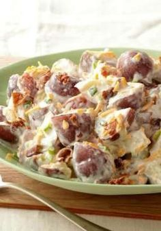 Steakhouse Potato Salad – At the steak house, even the potato salad means business—with hearty potatoes, bacon and all kinds of creamy.