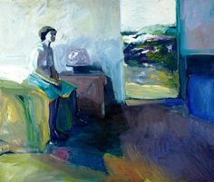 Elmer Nelson Bischoff - Country Room, 1957 oil on canvas