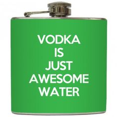 Vodka flask