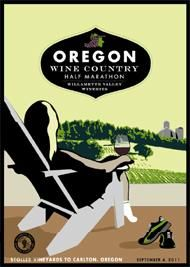 Oregon Wine Country Half Marathon- might be the ONLY way I'd run this far :)