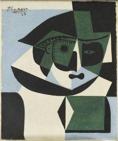 Pablo Picasso - Harlequin, 1923, Oil on Canvas Like & Repin. Noelito Flow. Noel Panda http://www.instagram.com/noelitoflow