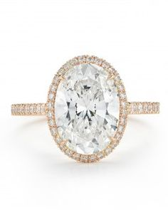 Kate Middleton wears it. So does Blake Lively and Salma Hayek. The engagement ring featuring an oval-cut stone is gaining popularity, and for good reason. The shape, which first began appearing in the Sixties and became famous on Princess Diana, visually elongates the fingers and is completely unique.