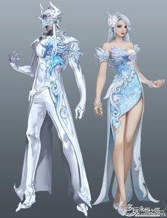Her ice helmet with her armor(left)
