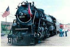 St. Louis Southwestern 819 on an early excursion run in 1986.
