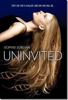 UNINVITED (Uninvited #1) by Sophie Jordan 5 of 5 Stars  http://www.memyshelfandi.com/2014/12/book-review-uninvited-by-sophie-jordan.html