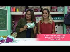 Stella Hoff na TV - Necessaire Doçura - YouTube Clutch Pattern, Youtube, Patches, Tv, Quilts, Movie, Patterns, Scrappy Quilts, Pencil Cases