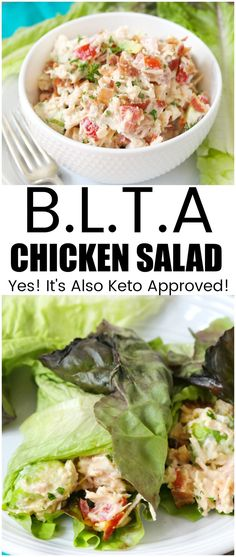 blta chicken salad