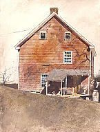 Andrew Newell Wyeth (American, Stove Coal, 1970 Watercolor on paper 28 x 21 in. x cm) Gift of Jane Bradley Pettit Photo credit P. Andrew Wyeth Paintings, Andrew Wyeth Art, Jamie Wyeth, Watercolor Artists, Watercolor Landscape, Nc Wyeth, Milwaukee Art Museum, Haitian Art, Building Art