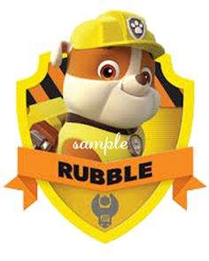 Items similar to paw patrol Rubble poster cartoon dog watercolor on Etsy Rubble Paw Patrol, Paw Patrol Png, Paw Patrol Cartoon, Paw Patrol Cake, Paw Patrol Party, Cartoon Dog, Cartoon Characters, Disney Home, Personajes Paw Patrol