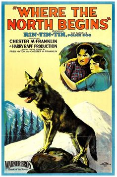 Where the North Begins (1923) Rin Tin Tin