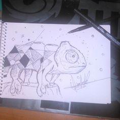 #desing #diseño #traditionaltattoo #tattooed #t #tattoob #tattoo #tat #tatuajes #tattoos #tattooer #tattoodo #tattoogirl #geometric #pluma #portraitphotographer #fotografia #followlike #followforfollow #tagsforfollow #likelike #life #likeforlike #chamelion #camaleon #retai #iguana #geometric #lunar #motivate