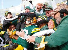 Feel-good pictures~ Green Bay Packers wide receiver Randall Cobb celebrates a touchdown against the Arizona Cardinals.
