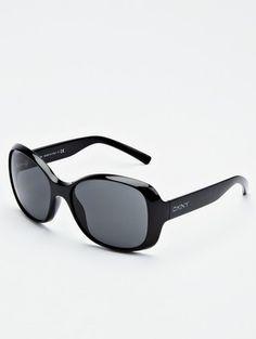 9fae9ef157 DKNY Oversized Logo Sunglasses