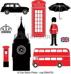 Vector - London symbol  - icons - silhouette - stock illustration, royalty free illustrations, stock clip art icon, stock clipart icons, logo, line art, EPS picture, pictures, graphic, graphics, drawing, drawings, vector image, artwork, EPS vector art