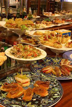 Pintxos #bar #SanSebastian #pintxos #food