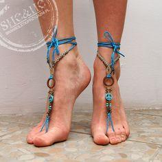 hand made macrame barefoot bracelets, anklets bracelets, anklet, anklets, boho style, bohemian