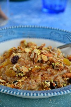 Breakfast Recipe: A Twist on the Regular Oatmeal #glutenfree