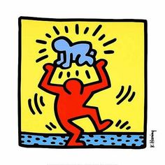 keith herring images | Keith Haring """"