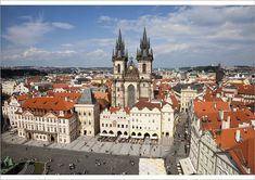 Poster-Church of our Lady before Tyn, Old town Square, Prague, Czech poster sized print mm) made in Australia Prague Old Town, Church Of Our Lady, Old Town Square, Prague Czech, Czech Republic, Poster Size Prints, Canvas Prints, Wall Art, Usa