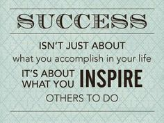 success is inspire others