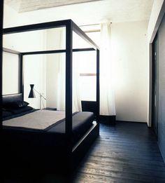 Drak bedroom