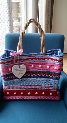 Ravelry: Shopping bag Oililly style pattern by Yvonne Gerichhausen