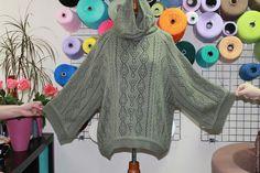 Кофты и свитера ручной работы. Ярмарка Мастеров - ручная работа. Купить Туника вязаная с хомутом косами из 30%мохера. Handmade. Хаки