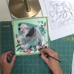 Played with a little time-lapse today! Now you can see my chaos in motion:) 3d Paper Art, Paper Artwork, Cut Paper, Paper Crafts, Paper Illustration, Illustrations, Brittney Lee, Paper Sculptures, Oragami