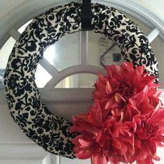 homemade wreaths   Homemade wreath!!!   Craft & DIY Ideas