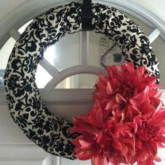 homemade wreaths | Homemade wreath!!! | Craft & DIY Ideas
