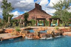 Gateway Canyons Resort - Gateway, CO - Magnificent natural setting, elaborate Palisade swimming pool and flawless housekeeping.