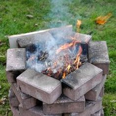 Pit firing. Using bisque clay only in this makeshift pit fire. Smoke firing gives a wonderful effect.