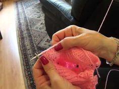 Vídeo aula. capa de bebê em tricô Parte 5